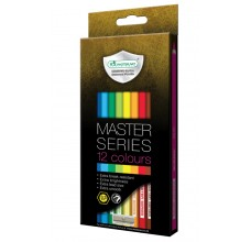 Master Series Coloured Pencil 12 Colours